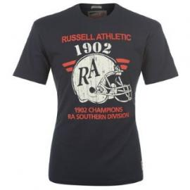 Pánské triko russell athletic - modré