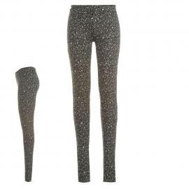 Dámské kalhoty Golddigga - černá/bílá