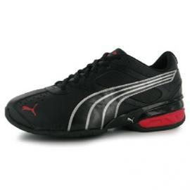 Dětské sportovní boty Puma - šněrovací černé