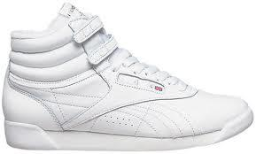 Dámské sportovní boty Reebok Freestyle - kotníčkové šněrovací bílá