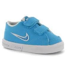 Dětské sportovní boty Nike Capri - suchý zip modré, Velikost: C3 (euro 19)