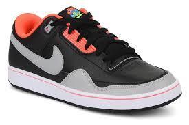 Pánské sportovní boty Nike Alphaballer - černo/šedivo/červené šněrovací
