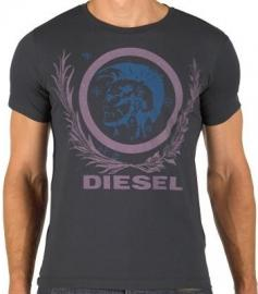 Pánské triko Diesel - Modré