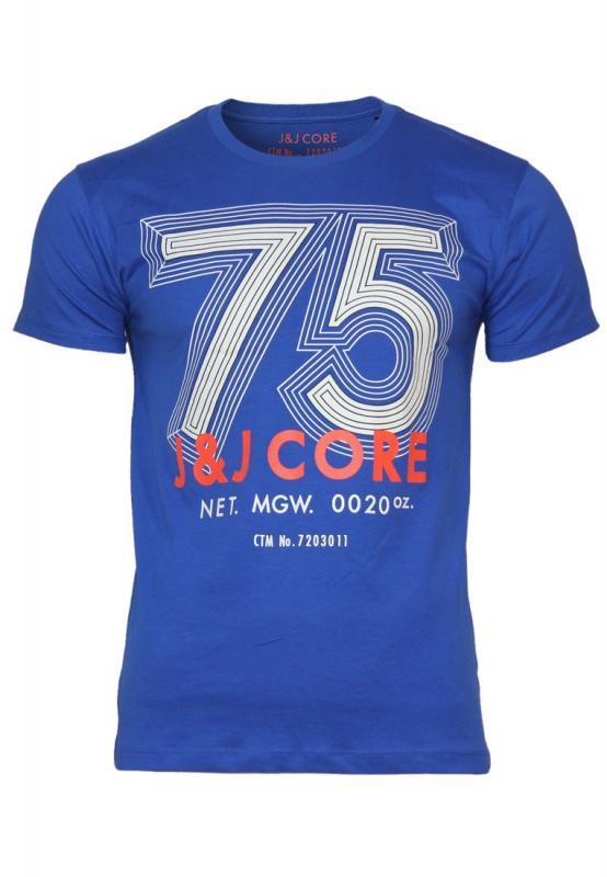 Pánské triko Jack and Jones - modrá