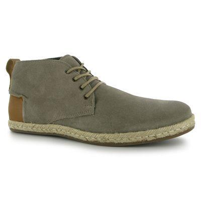 Pánské vycházkové boty Lee Cooper - šedivo/hnědé šněrovací