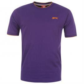 Pánské triko Slazenger - fialová fialová