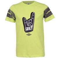 Pánské tričko Umbro s potiskem - zelené zelená