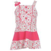 Dětské šaty Hello Kitty - růžové, Velikost: 5-6 let