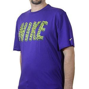 Pánské triko Nike - fialové, Velikost: M