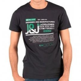 Pánské triko Jack and Jones - černé