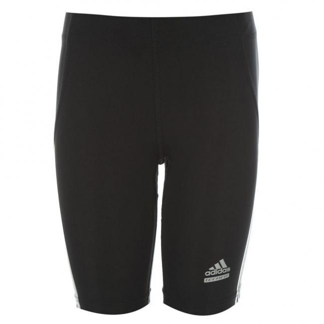 Dětské elastické šortky Adidas - černá