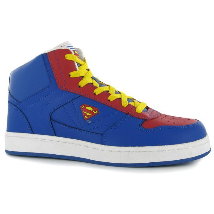 Pánské sportovní boty DC Comics Superman - modro/ červené šněrovací, Velikost: 10 (S)