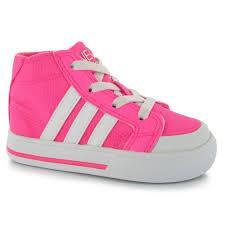Dětské sportovní boty Adidas Clemente - růžovo/bílé