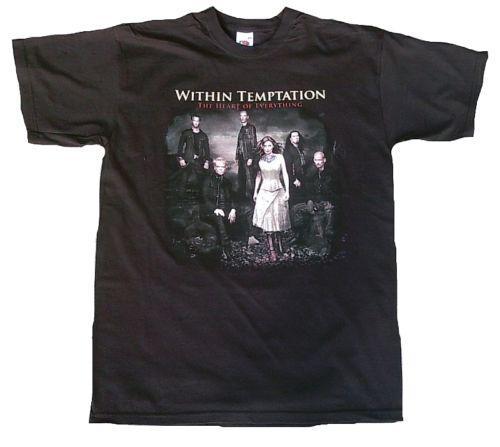 Pánské triko Within Tempation - Černé, Velikost: M