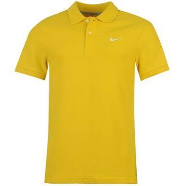 Pánské polo triko Nike - žlutá, Velikost: M