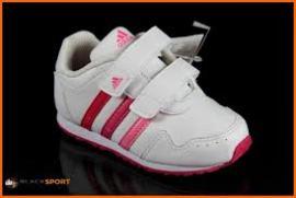 Dětské sportovní boty Adidas  Snice 2 - bílo/růžové
