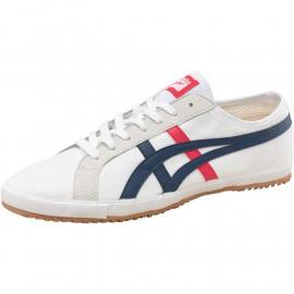 Onitsuka Tiger Womens Retro Glide Canvas Trainers bílá