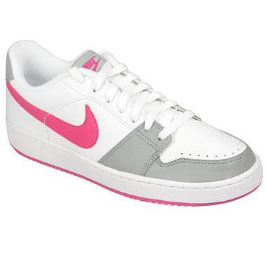 Dámské sportovní boty Nike Backboard bílá/šedá/růžová, Velikost: UK5 (euro 38)