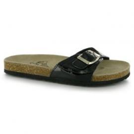 Dámská obuv Miss Fiori Single Strap černá