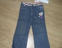 Dětské riflové kalhoty Charmmy Kitty- Modré