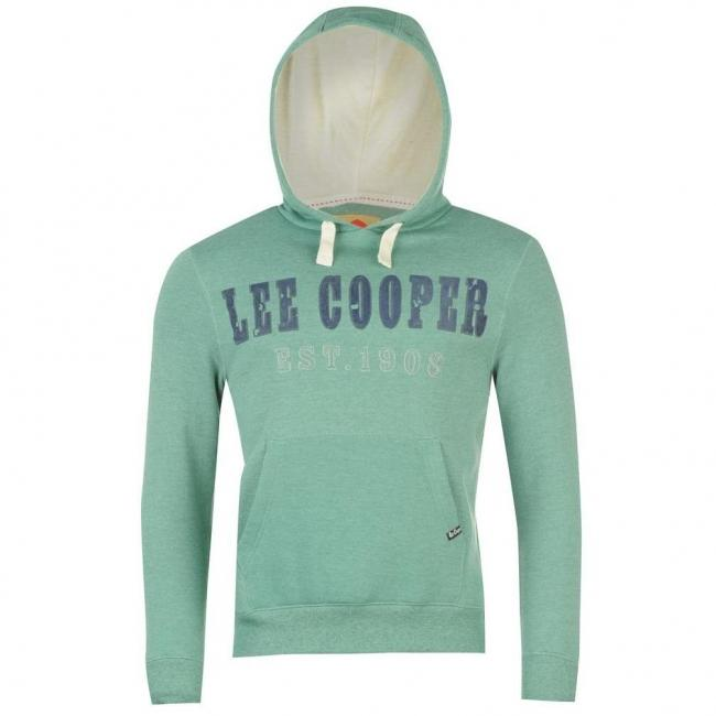 Pánská mikina Lee Cooper- Zelená