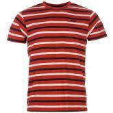 Tričko Lee Cooper Yarn Dye Stripe červená