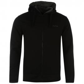 Mikina Pierre Cardin Zipped Hoody Mens Black