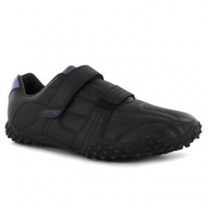 Dámské sportovní boty Lonsdale Fulham - černé suchý zip, Velikost: UK3 (euro 36)