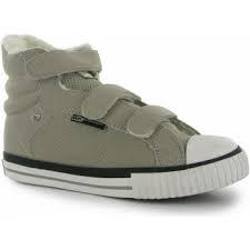 Dětské zimní boty British Knights Atoll - šedé suchý zip