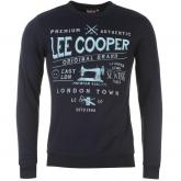 Mikina Lee Cooper Sewing Tools Sweater Mens Navy