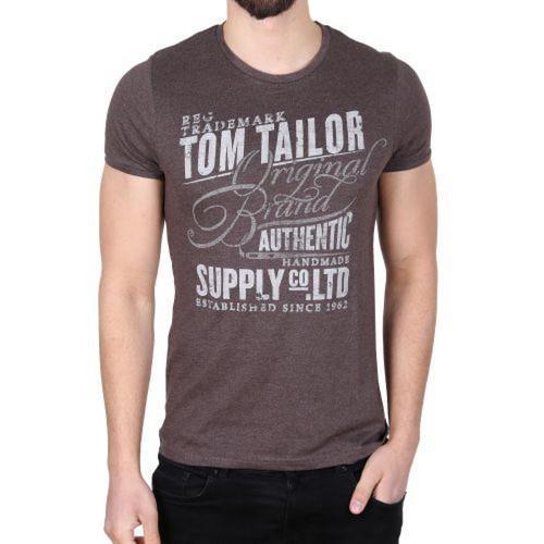 Pánské triko Tom Tailor Brovn, Velikost: XL