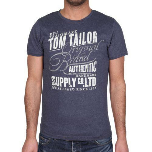 Pánské triko Tom Tailor Navy , Velikost: XXL