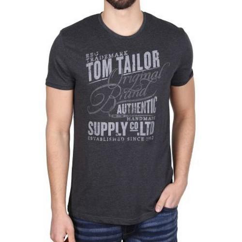Pánské triko Tom Tailor Grey, Velikost: XXL