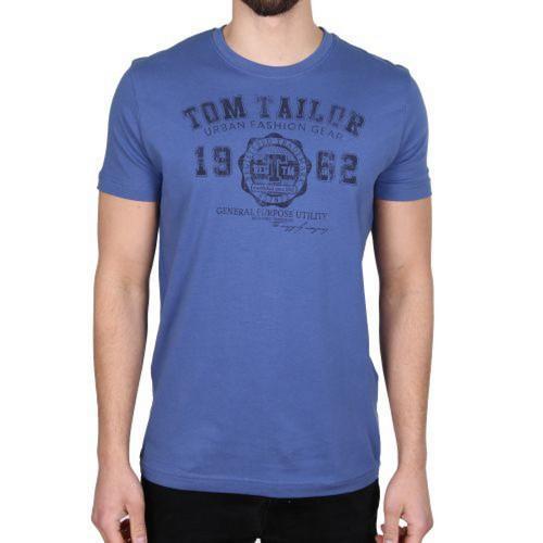Pánské triko Tom Tailor Blue, Velikost: XL
