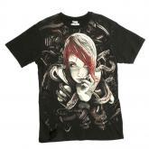 Iron fist pánské tričko černá