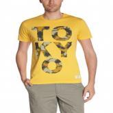 Pánské triko Jack and Jones žlutá