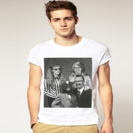 Pánské triko s potiskem bílá
