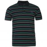 Lee Cooper Stripe Polo Mens Navy