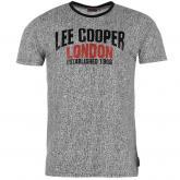 Pánské triko Lee Cooper Black