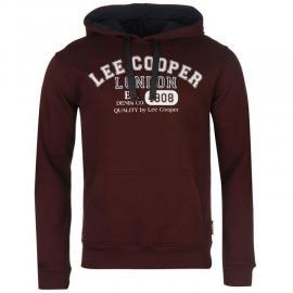Pánská mikina Lee Cooper Burgundy