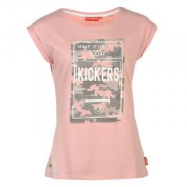 Dámské triko kickers Pink