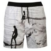 Ocean Pacific Sub Print Swim Shorts Grey