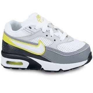 Dětské boty Nike Air white/grey, Velikost: C3 (euro 19)