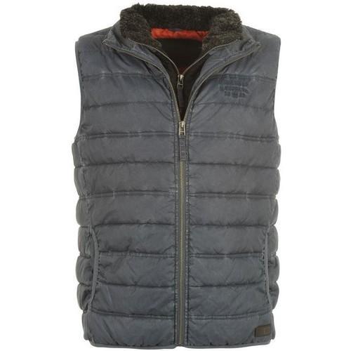 Pánská vesta Firetrap šedá, Velikost: XL