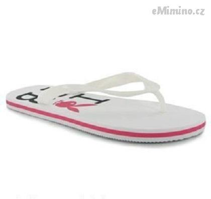 Žabky Playboy Eva Flip Flops Ladies wHITE