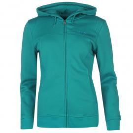 LA Gear Full Zip Hoody Ladies  Teal