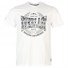 Tričko Everlast Logo T Shirt Mens White