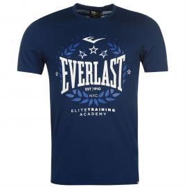 Tričko Everlast Logo T Shirt Mens Navy Laurel