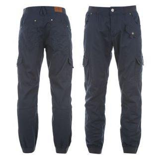 Pánské kalhoty Lee Cooper - tmavě modrá
