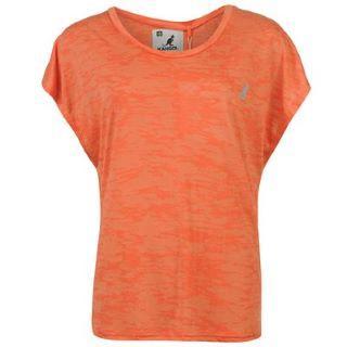 Dámské triko Kangol - oranžové